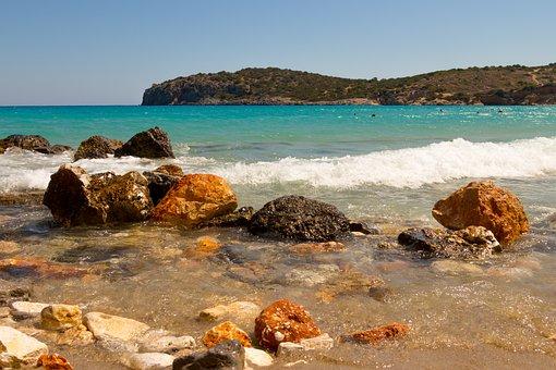 Beach, The Stones, Pebbles, The Coast, Stone, Summer
