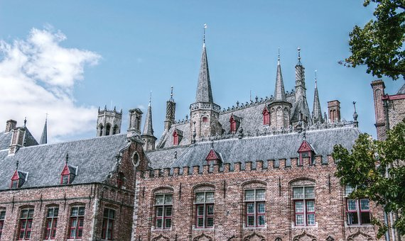 Bruges, Belfry, Old Firm, Town Home, Old Deanery