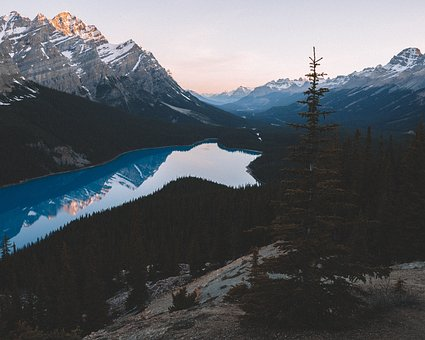 Lake, Water, Reflection, Trees, Plant, Forest, Mountain