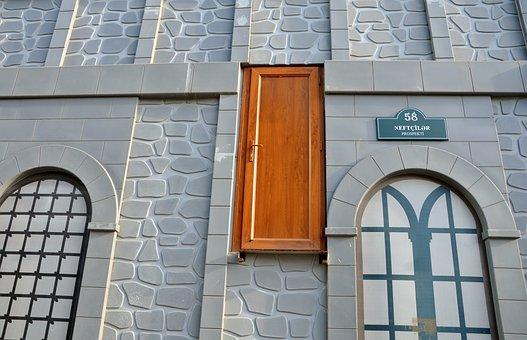 Door, Wall, Architecture, Apartment, Exterior, Indoors