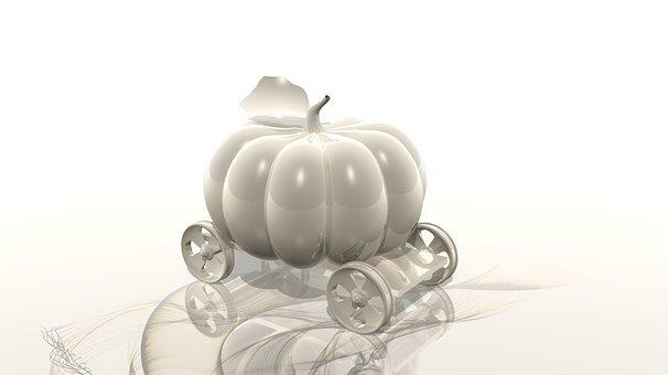 Pumpkin, Four Of A Kind, Cartoons, Wheel, Stroller