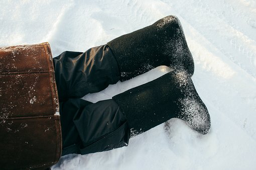 Boot, Footwear, Leather, Jacket, Clothing, Pants, Snow