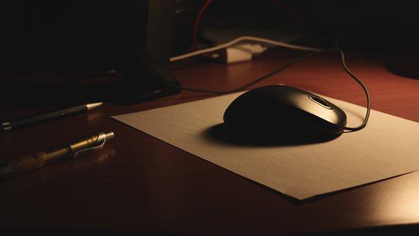 Work, Desk, Office, Mouse, Pad, Table, Pen, Desktop