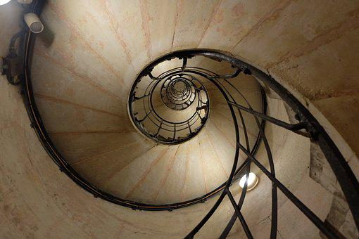 Staircase, Stairs, France, Arcdetriomphe, District
