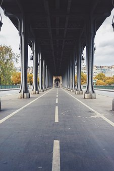 Architecture, Buildings, Structure, Path, Lane, Road