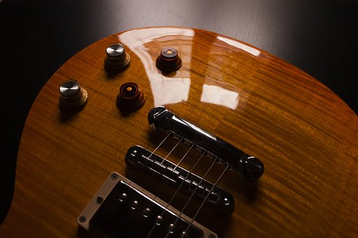 Electric, Guitar, Strings, Musical, Instrument, Glossy