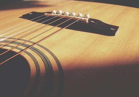 Acoustic, Guitar, Strings, Musical, Instrument