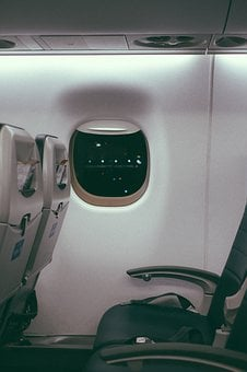 Inside, Airplane, Airline, Travel, Trip, Seat, Cabin