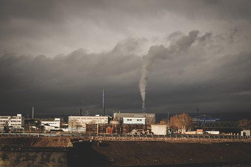 Architecture, Building, Infrastructure, Chimney, Smoke