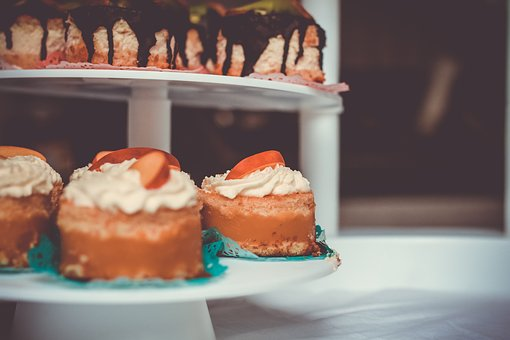 Cupcakes, Sweets, Desserts, Icing, Cream, Cheese
