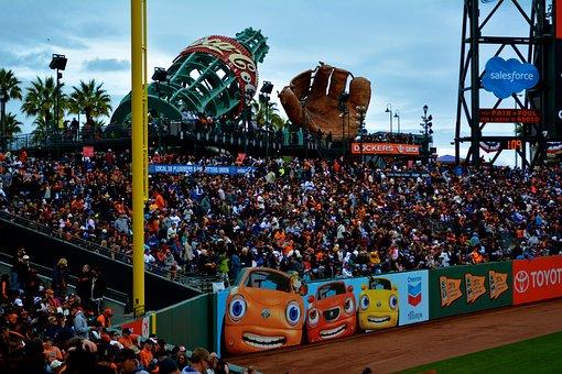 San Francisco, Mccovey Cove, Giants, Baseball