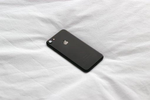 Mobile, Phone, Gadget, Apple, White