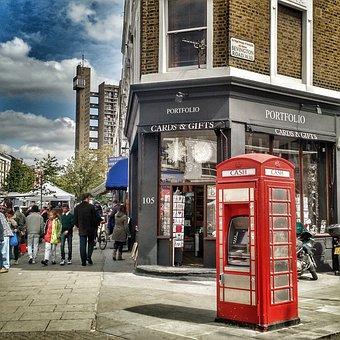 London, Telephone Booth, Uk