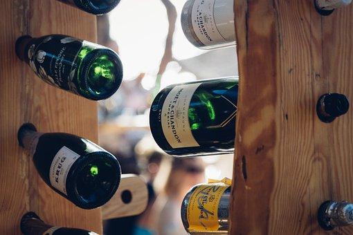 Wine, Drink, Beverage, Bottle, Alcohol, Rack