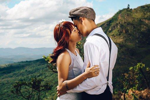 People, Man, Guy, Girl, Kiss, Hug, Love, Highland