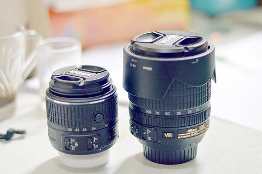 Camera, Optics, Lens, Dslr, Photography, Black