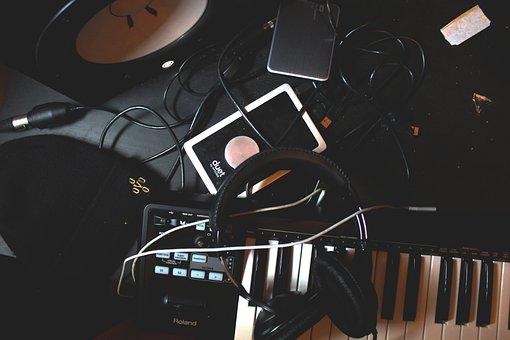 Piano, Keyboard, Musical, Instrument, Ipad, Tablet