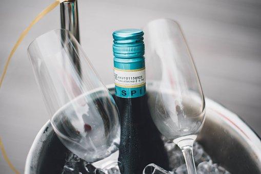 Bottle, Wine, Beverage, Drink, Cold, Glass, Ice