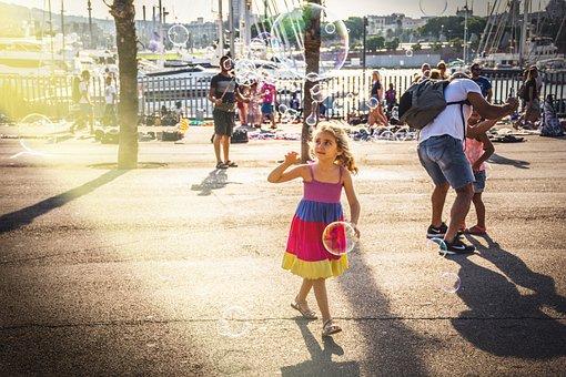 People, Men, Women, Kids, Children, Street, Park