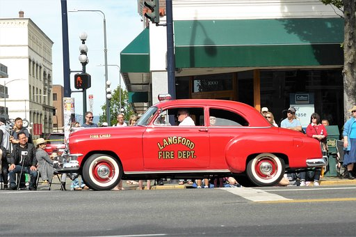 Vehicle, Fire, Oldtimer, Parade, Classic Car