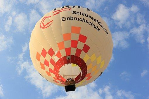 Balloon, Hot Air Balloon, Colorful, Basket, Burner
