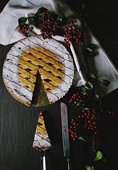 Food, Desserts, Sweets, Sugar, Pie, Cake, Fruit