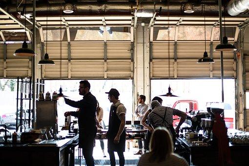 People, Coffee, Shop, Men, Girls, Machine, Store
