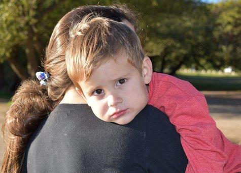 Mother, Son, Hug, Love
