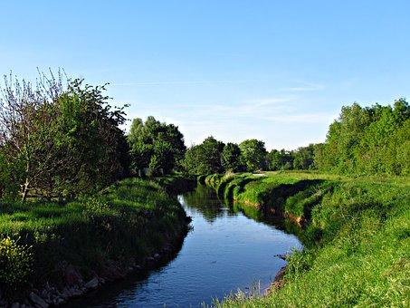 Strumy, The Brook, Water, Stream, Landscape, Nature