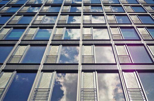 Architecture, Facade, Office Building, Modern, Window