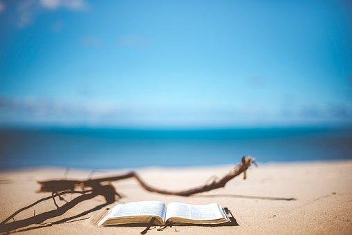 Sea, Water, Ocean, Blue, Sky, Nature, Beach, Sand, Wood