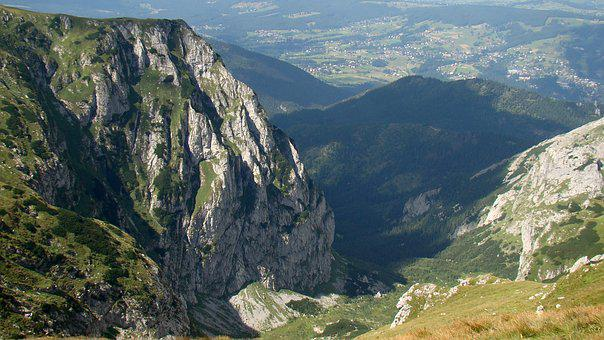 Mountains, The Abyss, Tatry, Cliff, The Valley Of The