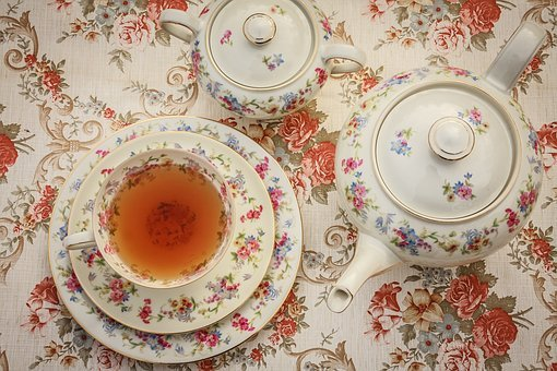 Tea, Tea Time, From Above, Cup, Drink, Hot, Beverage