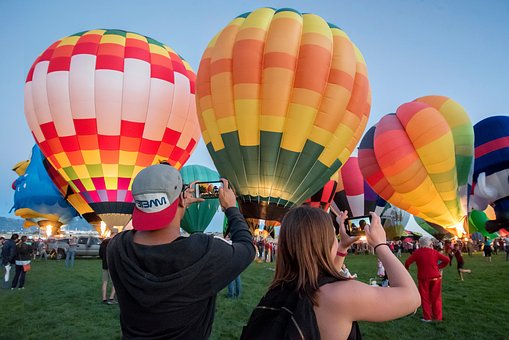 Hot Air Balloon, Festival, Celebration, Colorful