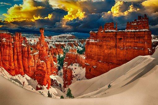 Snow, Landscape, Winter, Cold, Nature, Season, Outdoor