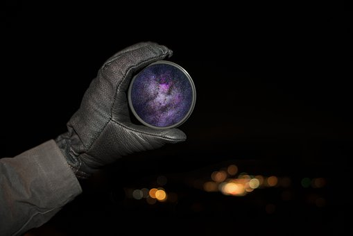 Hand, Glove, Dark, Night, Light