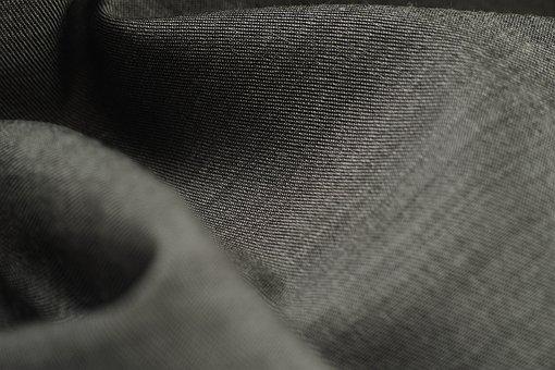 Grey, Macro, Textile, Softness, Fabric, Detail