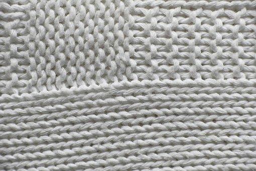 White, Macro, Textile, Softness, Fabric, Detail