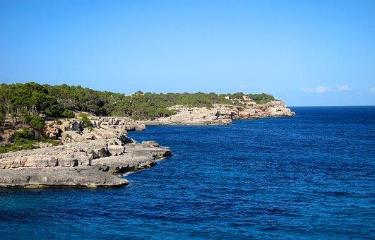 Mallorca Spain, Island, Cala, Cove, Balearic, Spain