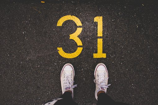 Shoes, Footwear, Number, Road