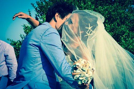 People, Bride, Groom, Wedding, Celebration, Man, Girl