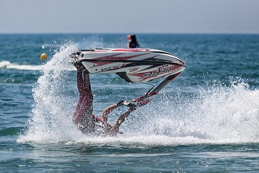 Ocean, Sea, Water, Nature, Wave, Blue, Guy, Sports