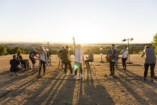 People, Girls, Guys, Musician, Music, Band, Singing