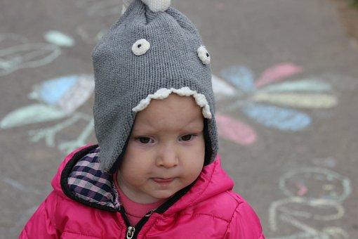 Child, Hat, Winter, Baby Girl