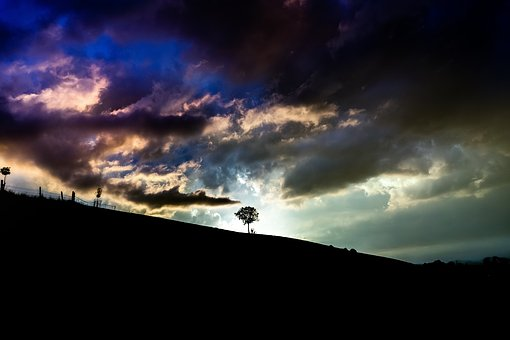 Nature, Landscape, Sky, Clouds, Hill, Mountain, Travel