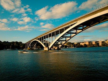 Nature, Landscape, Bridge, Water, Ocean, Sea, Building