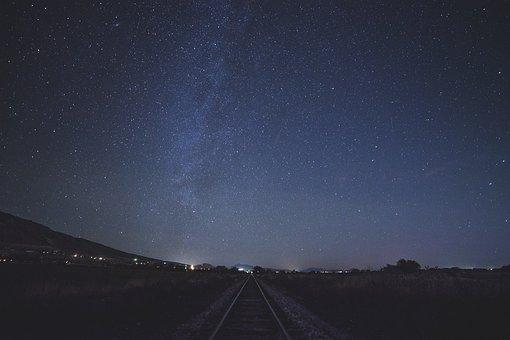 Stars, Sky, Night, Space, Galaxy, Lights, Astronomy
