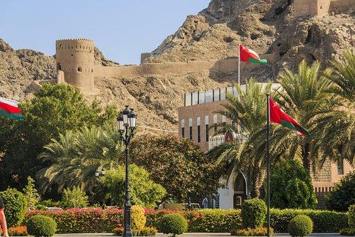 Muscat, Oman, Sultan, Arab, Exterior