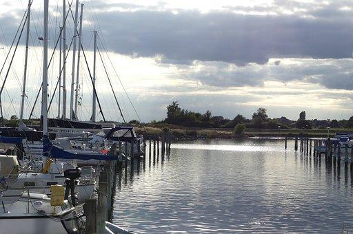 Ship, Boot, Water, Port, Sail, Anchorage, Sea