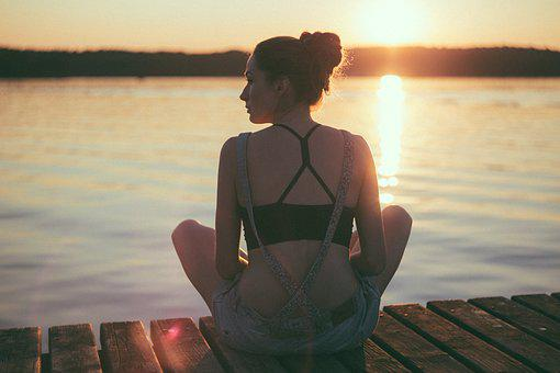 People, Girl, Beauty, Meditation, Health, Relax, Nature